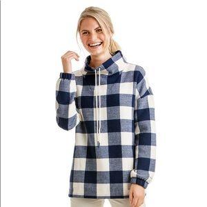 Vineyard Vines Buffalo Check Sweatshirt S